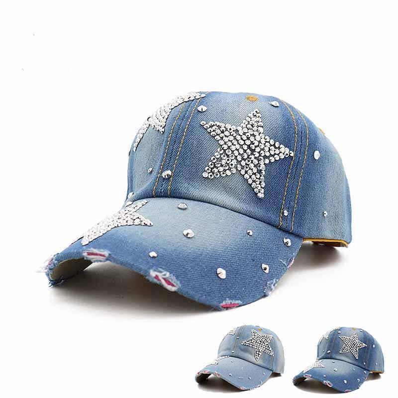 c0dc9b0a0 Diamond Pentagram Cowboy Knit Hats Leisure Adjustable Cowboy Hats ...