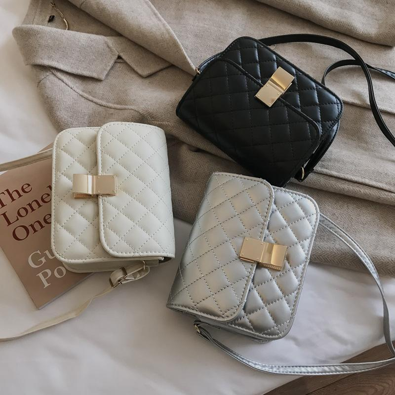 Free2019 Exceed Ins Rabbia Qualità Chic Small Square Package Single Shoulder Messenger Concise Diamond Lattice