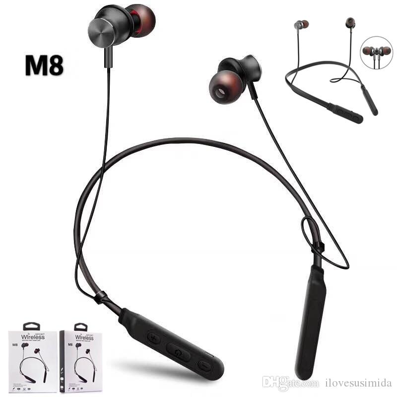 af01bc3fbe076a Auricolari Bluetooth Samsung Cuffie Stereo Bluetooth Stereo Con Auricolari  Stereo Con Microfono Auricolari M8 Magnetici Con Microfono IPhone Samsung  Con ...