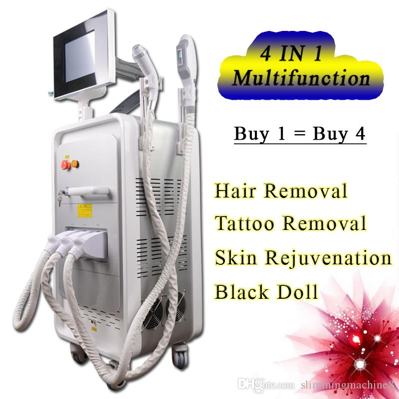 New Powerful IPL SHR Elight Hair Removal System OPT machine tattoo removal yag laser rf face lift multi function machine