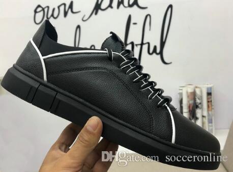 316510686 Acquista Top Scarpe Da Ginnastica Casual Alla Moda In Pelle ...