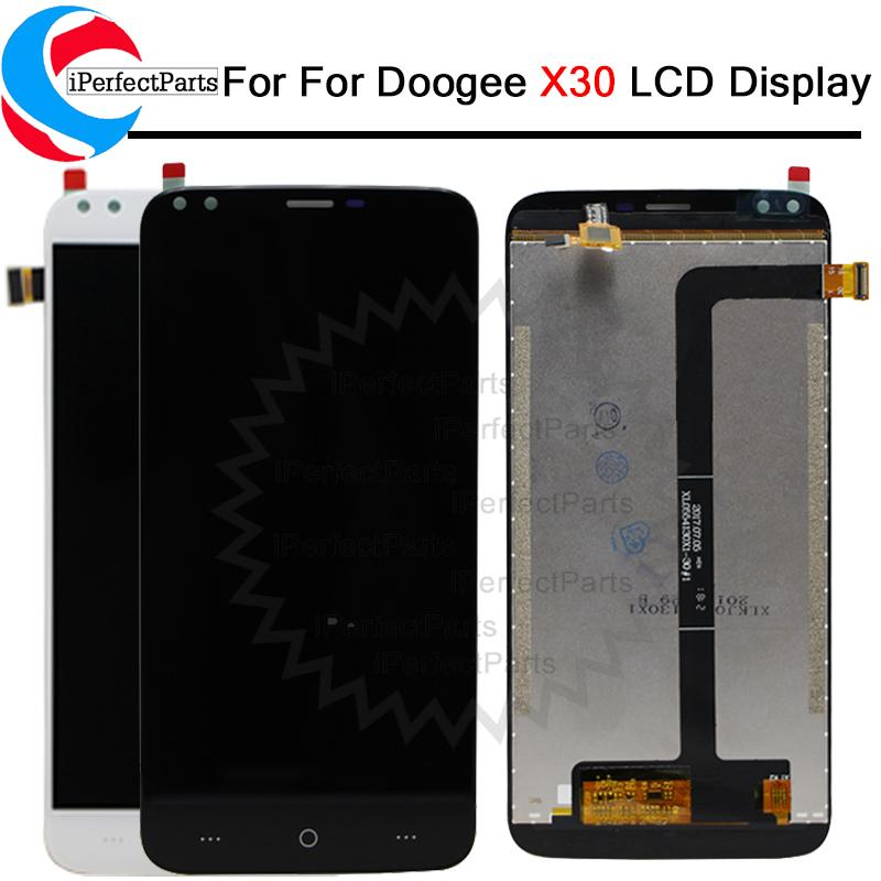 5 5 inch For Doogee X30 LCD Display Touch Screen Assembly Repair Part Phone  Accessories tools For Doogee X30 Cellphone Part