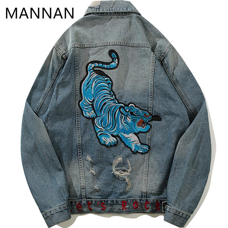Mannan Novel Ideas Denim Jacket Coat 2018 New Autumn Warm