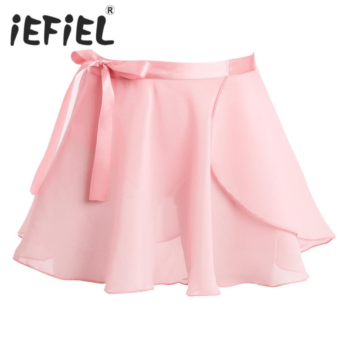 8948a4278dc8 Compre Niños Faldas De Baile De Ballet Bailarina De Gasa Básico Clásico Mini  Falda Del Abrigo Niñas Rendimiento Infantil Fiesta Tutu Falda A $40.74 Del  ...