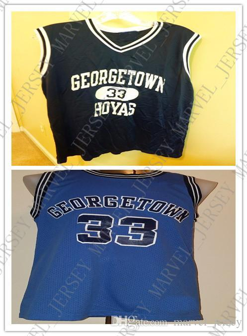 super popular f30c4 12afc Cheap custom Vintage Patrick Ewing #33 Georgetown Hoyas College Jersey 1982  Stitched Customize any number name MEN WOMEN YOUTH XS-5XL