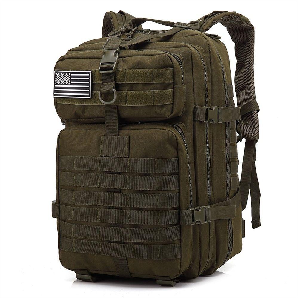 24e87f367 Compre 45L Gran Capacidad Hombre Ejército Táctico Mochilas Bolsas De Asalto Militar  Al Aire Libre 3P EDC Molle Pack Para Trekking Camping Caza Bolsa ...