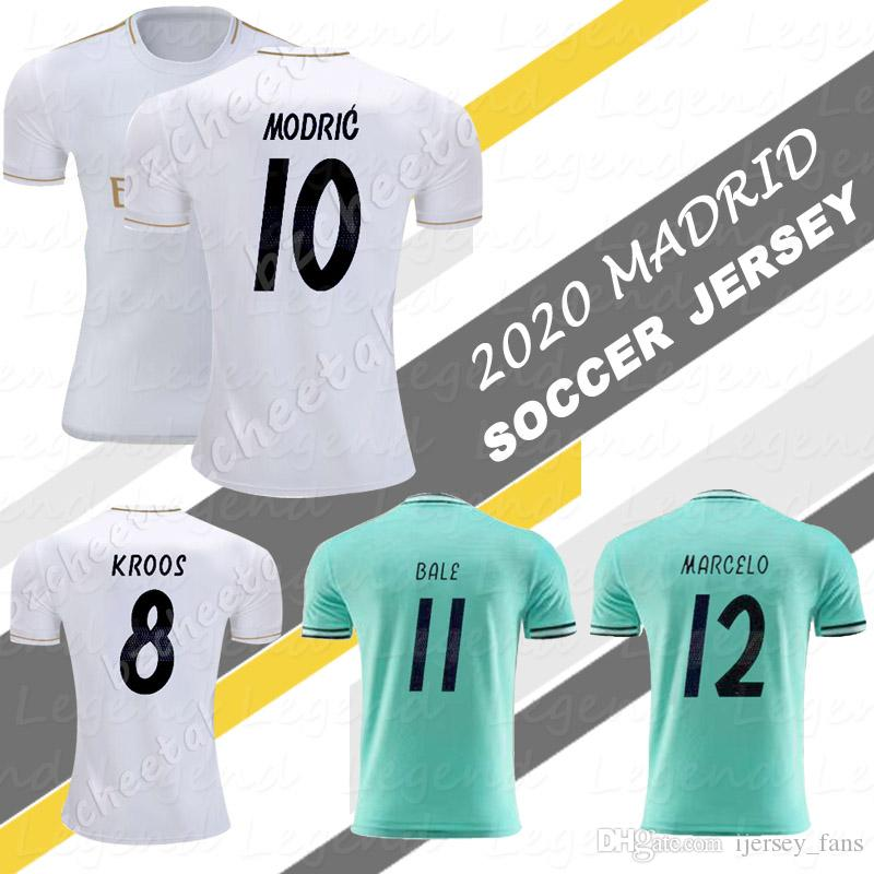 official photos 10e80 33162 LUKA MODRIC soccer jersey 2020 Midfield masterclass football uniform Madrid  shirts MARIANO ASENSIO VINICIUS JR KROOS MARCELO JERSEY Camiseta