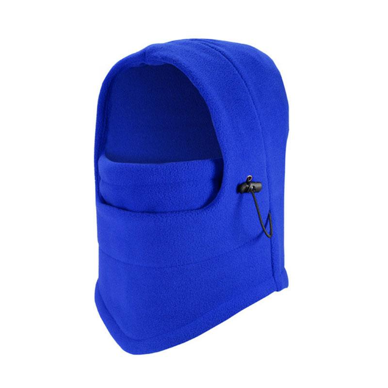 445df32157e Double Layers Thick Windproof Balaclava Mask Warm Winter Hat Special ...
