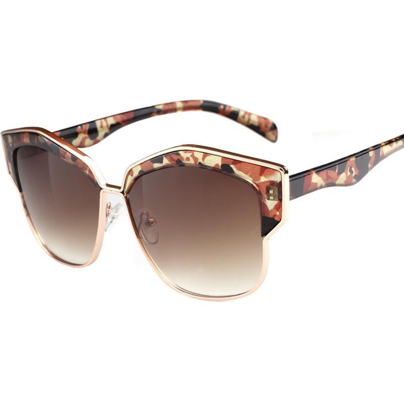 f9bd2ed444 2019 Semi Rimless Sunglasses Luxury Women Brand Trendy Glasses Top Quality  UV Protection Mirror Eyewear Designer Fashion Gradient Sunglasses Sunglasses  For ...