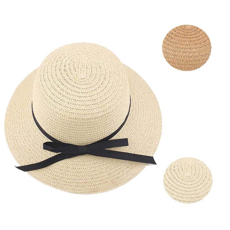 Compre Moda Verano Chicas Mujeres Playa De Ala Ancha Sombrero Para El Sol  Sombrero Mujer Verano Rosa Mujer Viaje Saliente Sombrero De Paja A  33.44  Del ... 1571a0fcc8d