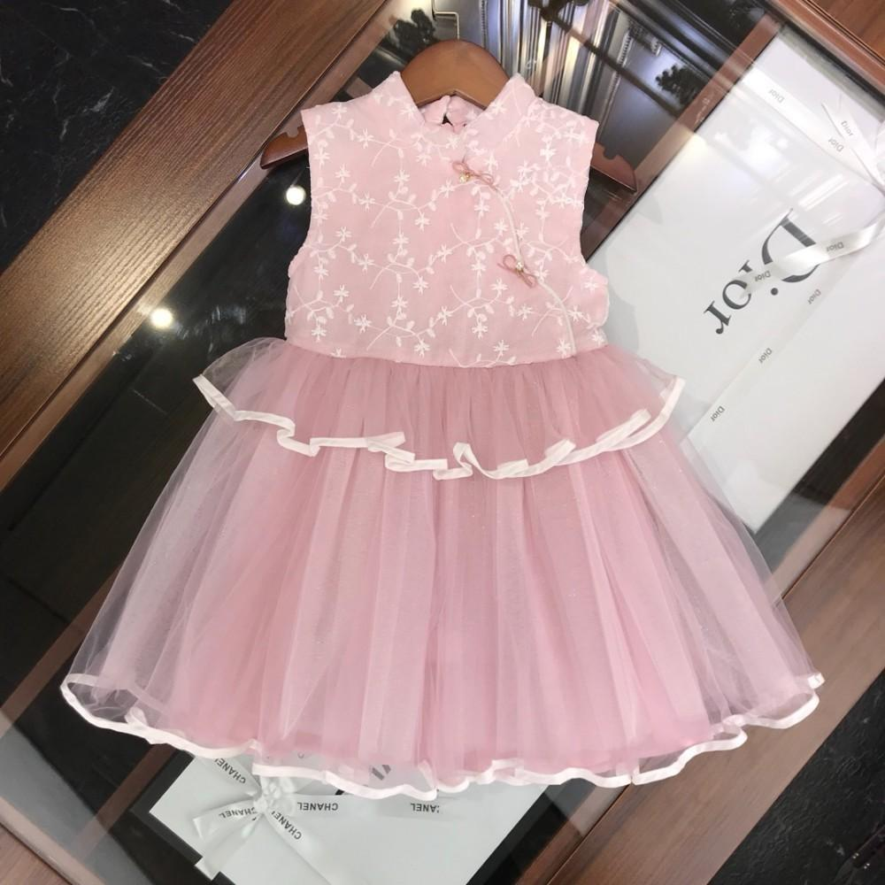 5a0ff426cfe 2019 Children S Wear Girl Dress Skirt Summer Clothing 2019 New Products  Comfortable Wholesale Prices Chinese Embroidery Cheongsam Kilt Of From  Whatsyan02
