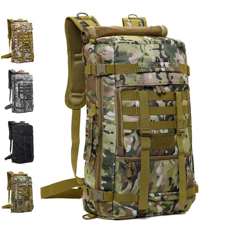 d6996e6eaa07 Tactical Backpack Camping Sling Bags Mountaineering Camouflage Bag Men S  Outdoor Hiking Rucksack Travel Camo Backpack Small Backpack Backpack Brands  From ...