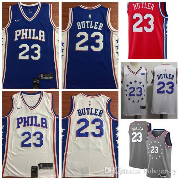 910e94426ed 2019 Men S Philadelphia Jimmy 76ers 23 Butler Fanatics Branded Royal Fast  Break Replica Player Jersey Icon Edition From Sellercr