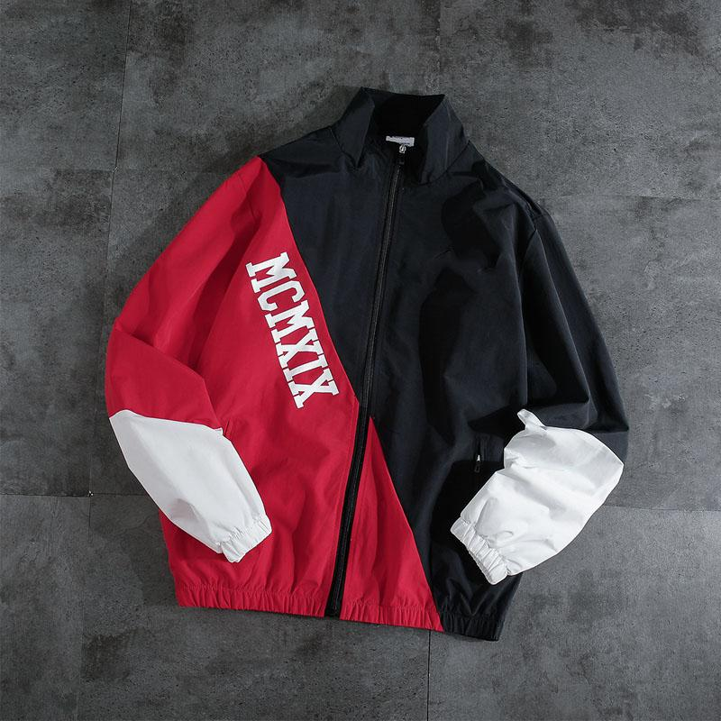 2019 Mens jackets and New Fashion Brand jackets Coats Designer Long Sleeve High Quality Keep Warm Outerwear Zipper with Size S-2XL B101340Q