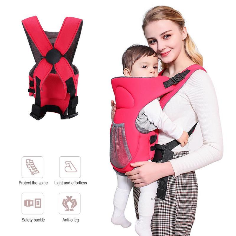 Newborn Baby Carriers Backpacks Multi Function Breathable Baby Sling Wrap Cotton Infant Newborn Carrying Belt For Mom Dad