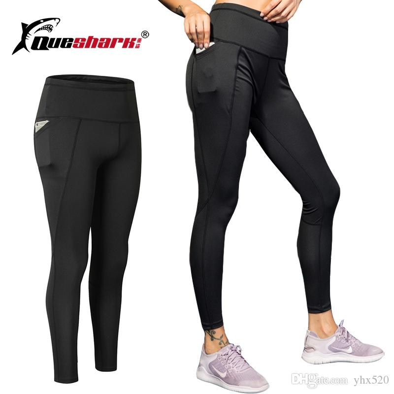 79d51e2ace957 Women's Yoga Pants Running Pants Tights Tummy Control Workout Running Stretch  Yoga Leggings Tights High Waist with Pocket #864797