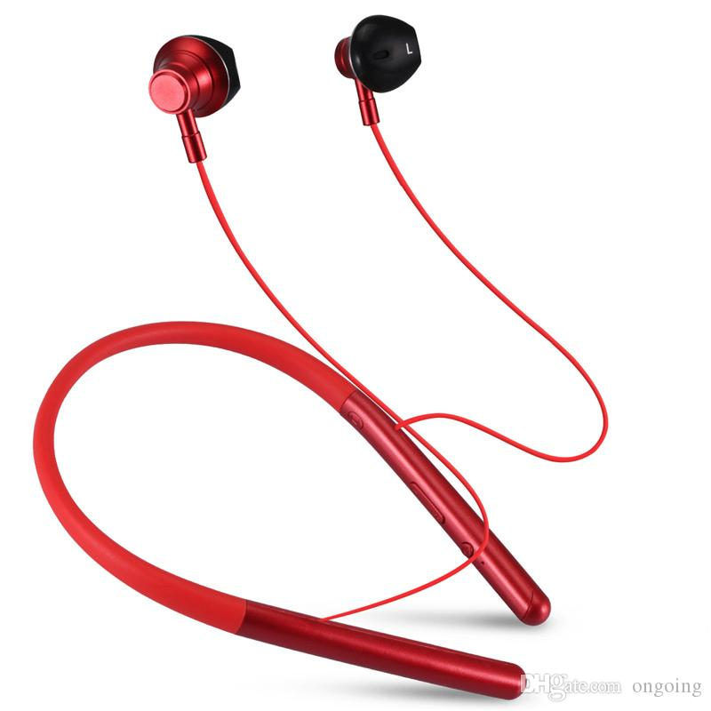 New Bluetooth Headphones M20 Earphone High bass stereo Double Unit Drive In Ear Earphones With Microphone earbuds For Phone DHL