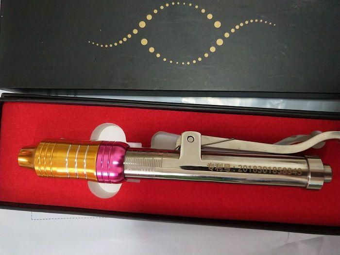 Più nuovo ad alta pressione senza ago penna ialuron iniezione ago libero mesoterapia dispositivo di pistola siero acido ialuronico per anti rughe