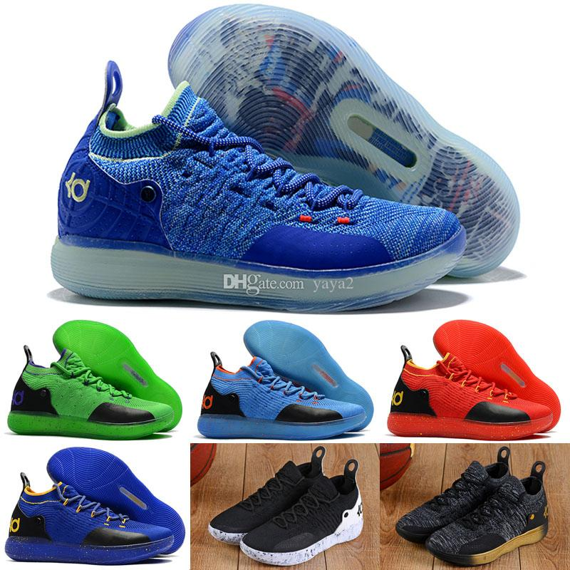 2019 New Arrival KD 11 Mens Kids Basketball Shoes, Top Quality React ZOOM KD11 EP Athletic Sport Sneakers