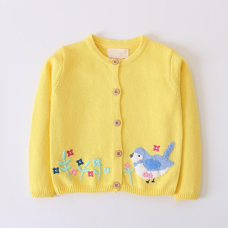 970b8c28f9d6 New Autumn Children Sweater Kids Pullover Cardigan Toddler Baby Girl ...