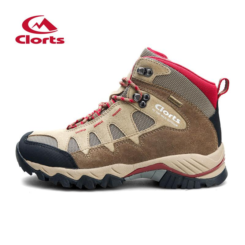 f1e97305beb 2017 Clorts Men Hiking Boots Waterproof Uneebtex Outdoor Climbing Shoes  Suede Breathable Sport Trekking Sneakers Hkm-823B/C