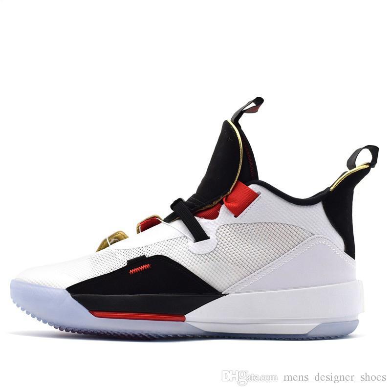 buy online 05f25 f3fa7 Jumpman XXXIII Nike Air Jordan 33 Zapatillas De Baloncesto Para Hombre De  La Mejor Calidad 33S Metallic Gold Black Blackout Entrenadores Zapatillas  ...