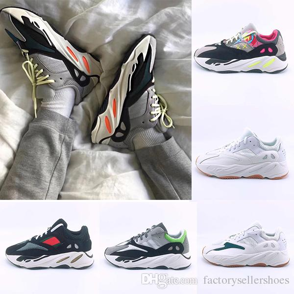 8ea429162 Without Box 2019 Kanye West Runner 700 Wave Runner Mauve EE9614 Grey Black  White Blue B75571 Men Women Running Shoes Sports Designer Sneaker Mens Sale  Cheap ...