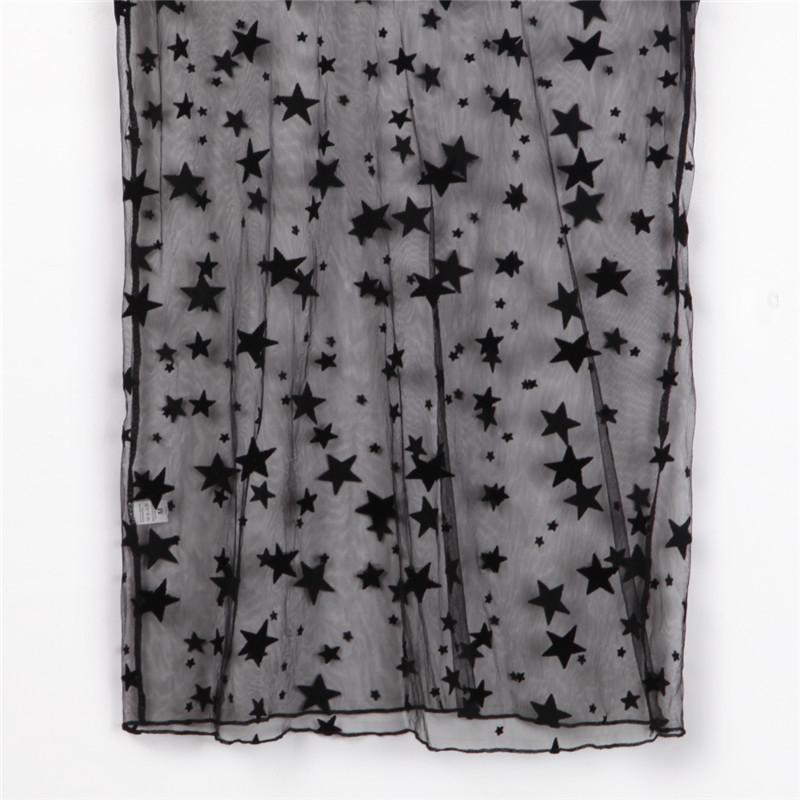 Мода сексуальные женщины бикини прикрыть звезда пляжная одежда купальники пляжная одежда сетка мини-платье