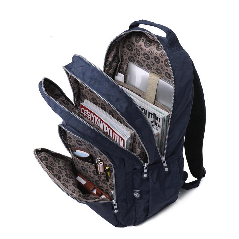 c48401f0b Good Quality Women Backpack Nylon Mochila Feminine Backpacks For Teenage  Girls Youth Female School Shoulder Bagpack Bag Fashion 2019 Back Packs  Rolling ...