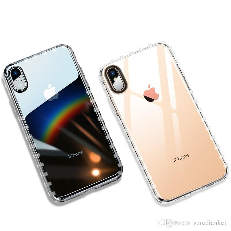 the latest 92ab5 f8f75 New Soft 1.5 MM thicker TPU Cell Phone Cover for iPhone XR/XS maX/8p/8