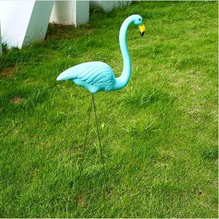 2019 Flamingo Lawn Decoration Flamingo Ornament Lifelike Plastic Artificial  Lawn Ornament Jardin Garden Decor Ornaments Drop Shipping From Trendshomes,  ...