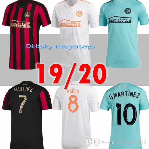 official photos c6c63 c2c51 MLS 2019 2020 Atlanta United FC jersey ALMIRON MARTINEZ home away soccer  jerseys 19 20 VILLALBA Atlanta BARCO away football shirt