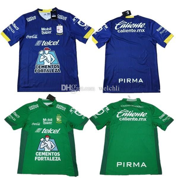 2019 2020 leon soccer jersey Tercer 19 20 Mexico Liga MX Club leon Joel  Campbell Rodolfo Cota Fernando Navarro football shirt thai quality