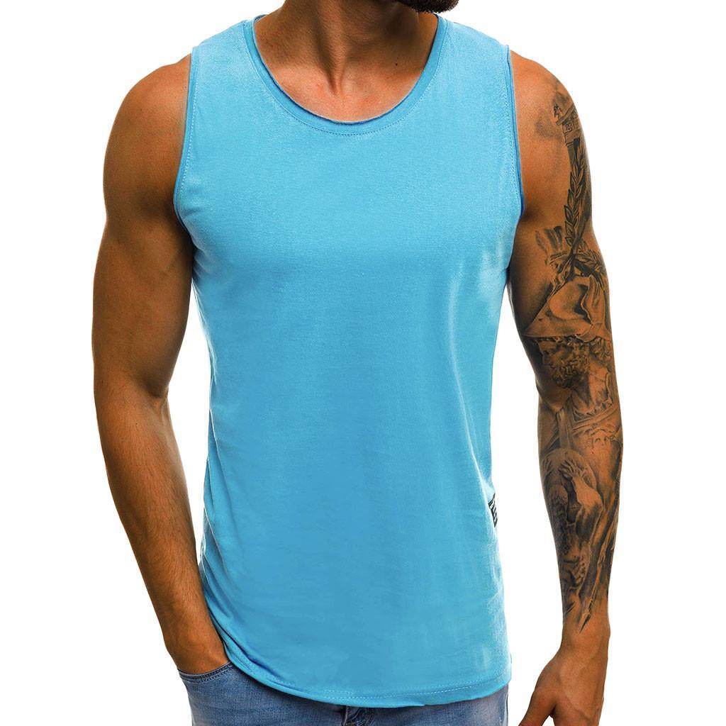 Hohe Flexibilität Männer Körper Kompression Basisschicht Sleeveless Sommer Weste Junge Fitness Strumpfhosen Unter Top Tees Tank Tops masculino