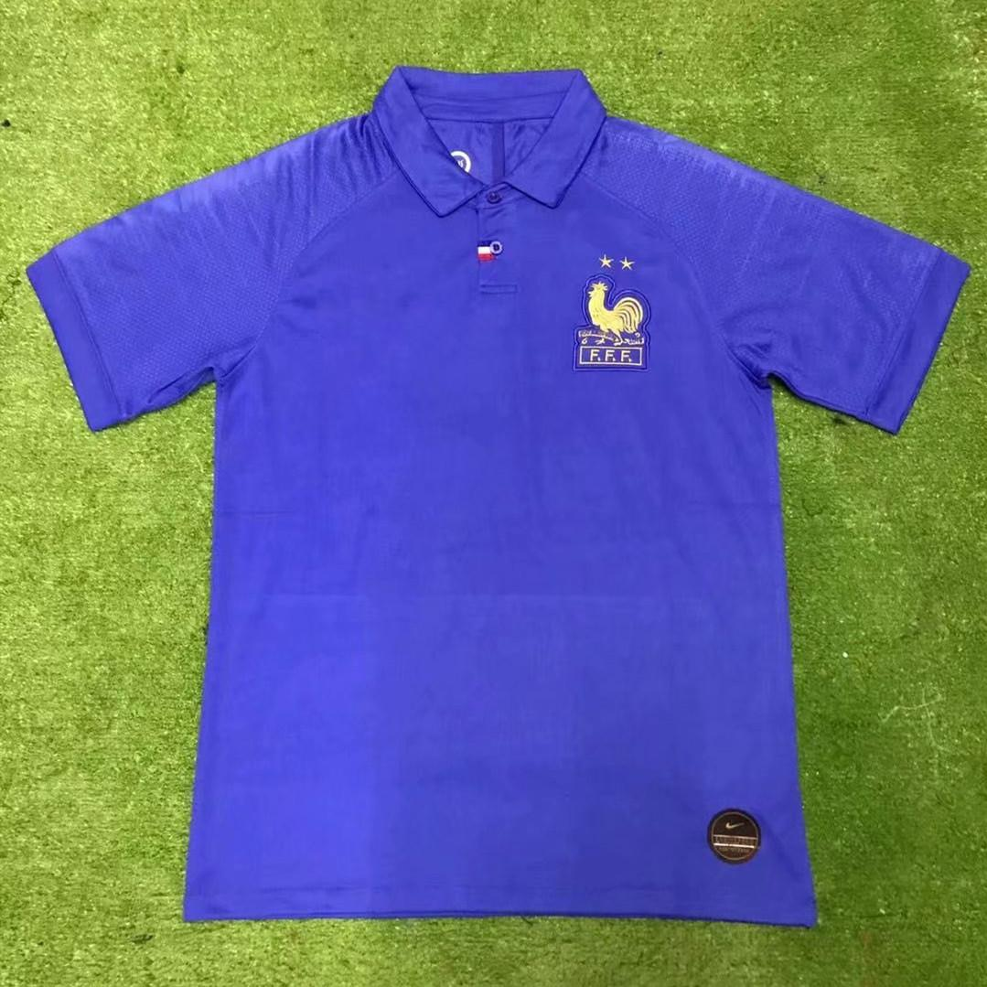 quite nice ea0c7 37e2c France 100 Special Edition Centenary soccer jersey HENRY 19 20 mbappe  GIROUD kante maillot france ZIDANE football shirts top quality