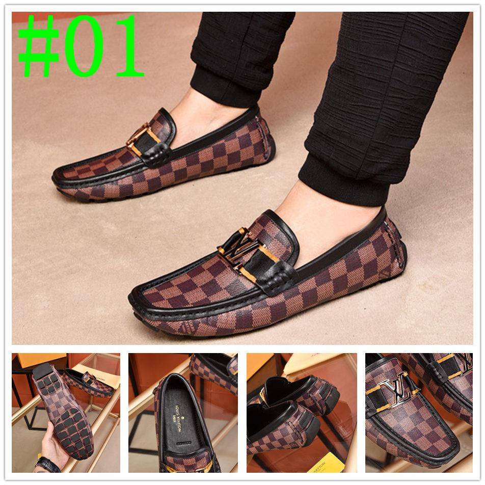 iduzi Italian Business Formale in pelle verniciata Scarpe a punta uomo Dress Shoes Luxurious Oxfords Wedding Party wear Scarpe Uomo