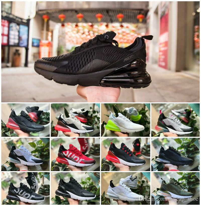 af0cb25532dc81 Cheap 2019 New Arrivals Flair Triple Black 270 AH8050 Trainer Sports  Running Shoes Womens Flair 270 Sneakers Size 36-45 Selling