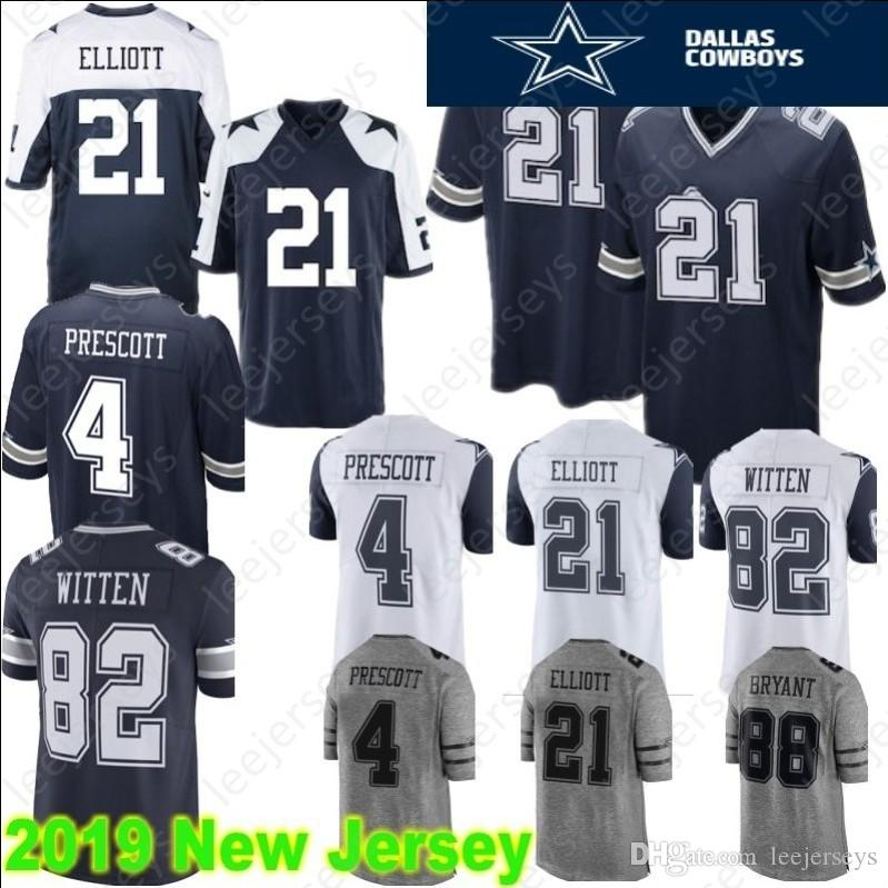 21 Ezekiel Elliott Cowboys Jersey Dallas 55 Leighton Vander Esch 88 ... 9f2822c4ccc2