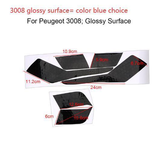 Горячая продажа 1 Set Honeycomb Taillight наклейка пленка Модифицированных наклеек автомобилей для Peugeot 3008 4008 5008 Внешних аксессуаров