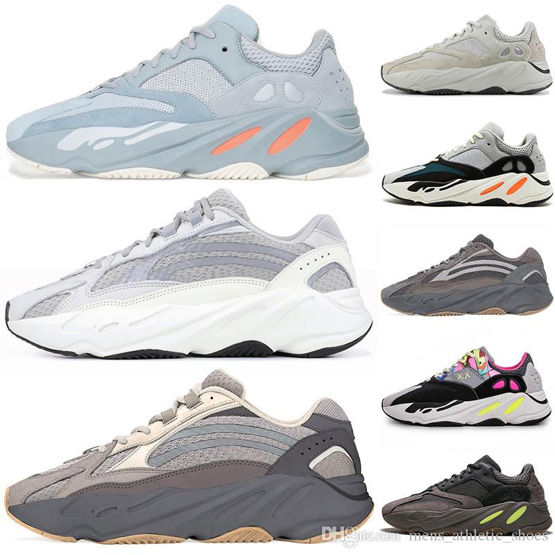 75d2b170e 2019 Static 700 Wave Runner Inertia Mauve Mens Women 500 Shoes Fashion Designer  Shoes 700 Brand Kanye West 3M Trainers Sport Sneakers 36 46 From ...