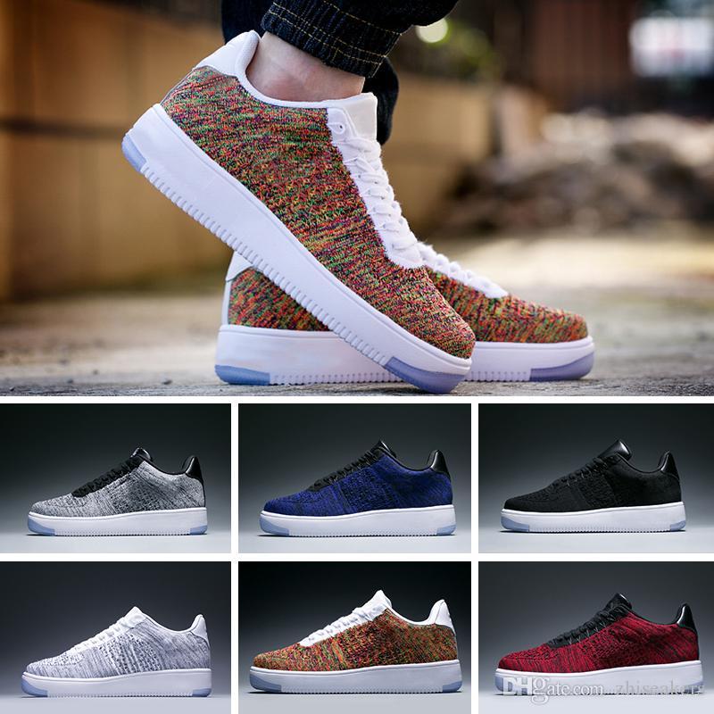 innovative design 5b2fb 1731f Nike Air Force 1 Ultra Flyknit A Cold Wall X Forced 1 Low ACW Samuel Ross  Zapatos De Skate Moda Para Hombre Zapatos De Diseñador Calcetines Y Gafas  De ...