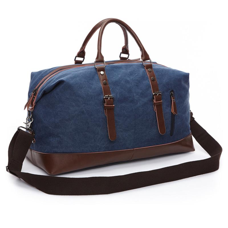 Canvas Duffel Bag Organizer Oversized Travel Overnight Weekender Carry On  Luggage For Men Women Handbag Travel Tote Large Bag Waterproof Bags Sport  Bags ... d8d854cea5141
