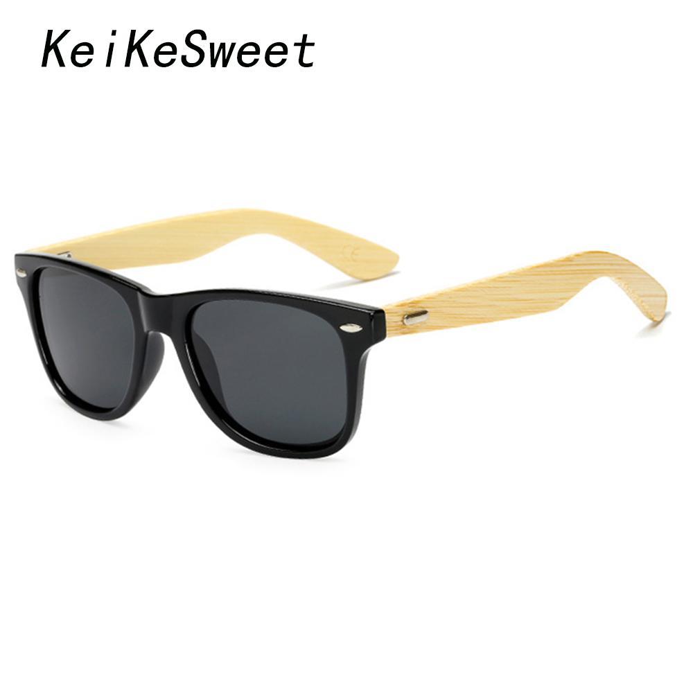 7d1cb88256be KeiKeSweet Polarized Protection Wood Man Hot Cool Rivets Original Bamboo  Brand Designer Sunglasses Rays Women Sport Sun Glasses Sunglasses Sale Kids  ...