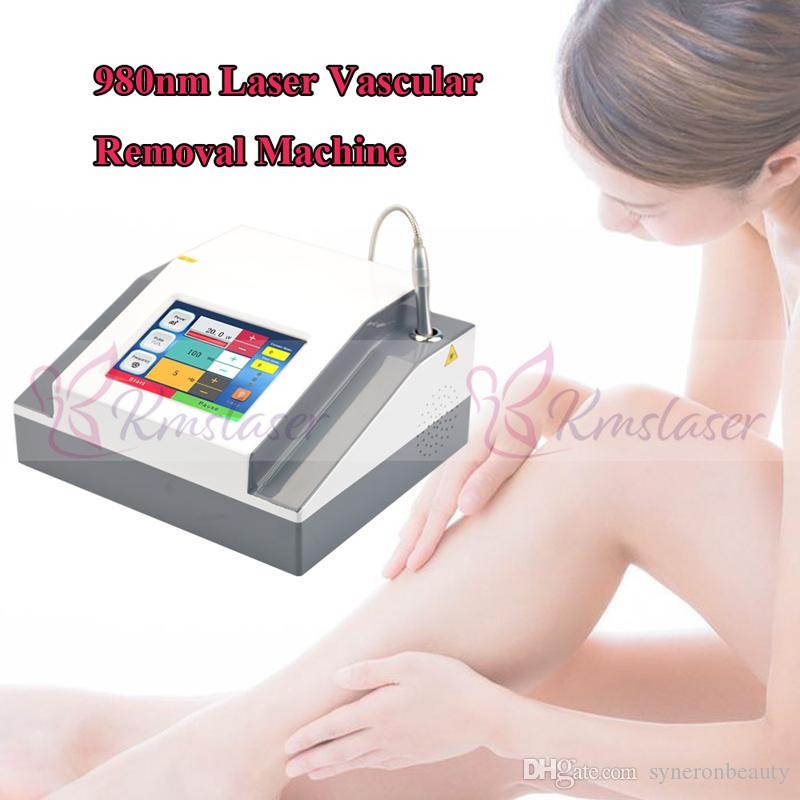 Portable 980nm diode laser vascular therapy machine vein removal device red  blood vessels spider vein removal 980nm laser
