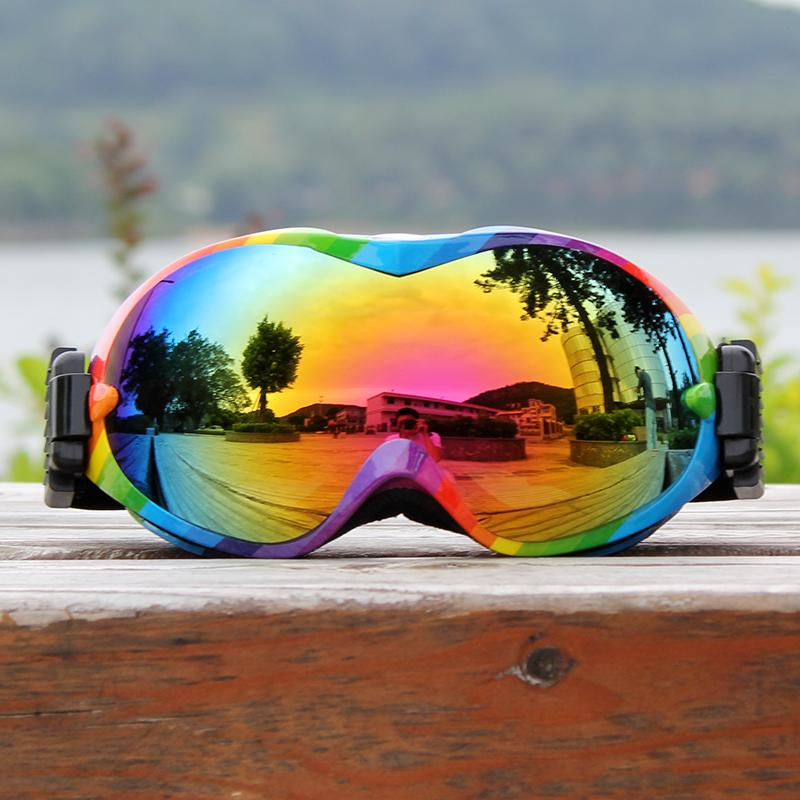 b6aa100a0a19 Professional Ski Glasses Double Layers Lens Ski Goggles Anti-fog UV400  Skiing Snowboard Men Women Snow Goggles Skiing Eyewear Cheap Skiing Eyewear  ...