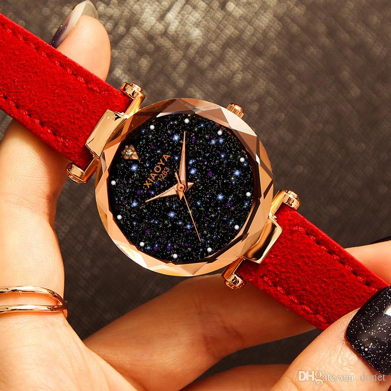 Women Bracelet Watch 2019 Luxury Starry t Watch 2019 Luxury Starry Sky Wrist Watch For Ladies Female Clock Relogio Feminino Reloj Mujer Wach