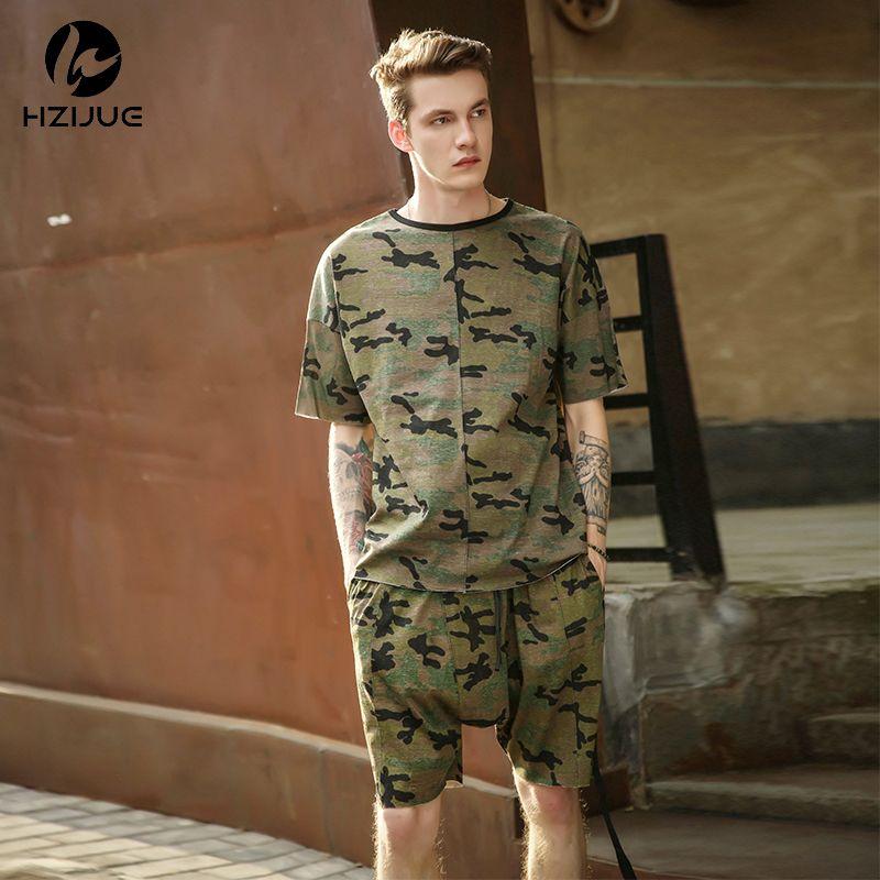 0b85b946e001a HZIJUE 2017 New Hip Hop Swag T Shirt Clothes Street Wear Kpop Urban Mens  Long Sleeve Longline OVERSIZE T Shirt Camo Camouflage D18122902 Mens Tee  Shirts ...