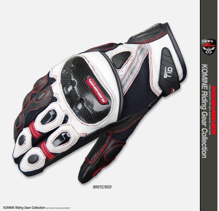 Motocicleta GK160 Protect Black White Glove Street Motorcycle Riding Dirt Bike MX Off-road Sports Adult Gloves luva motociclista