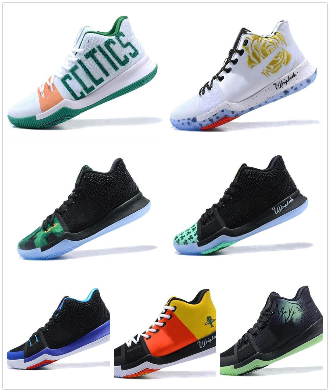 best service 21fb3 2efa0 High Quality Kyrie #3 Mans Basket Shoes Classic Basketball Shoes Mamba  Mentality Signature Shoes Outdoor Sports Sneakers 11 Colors