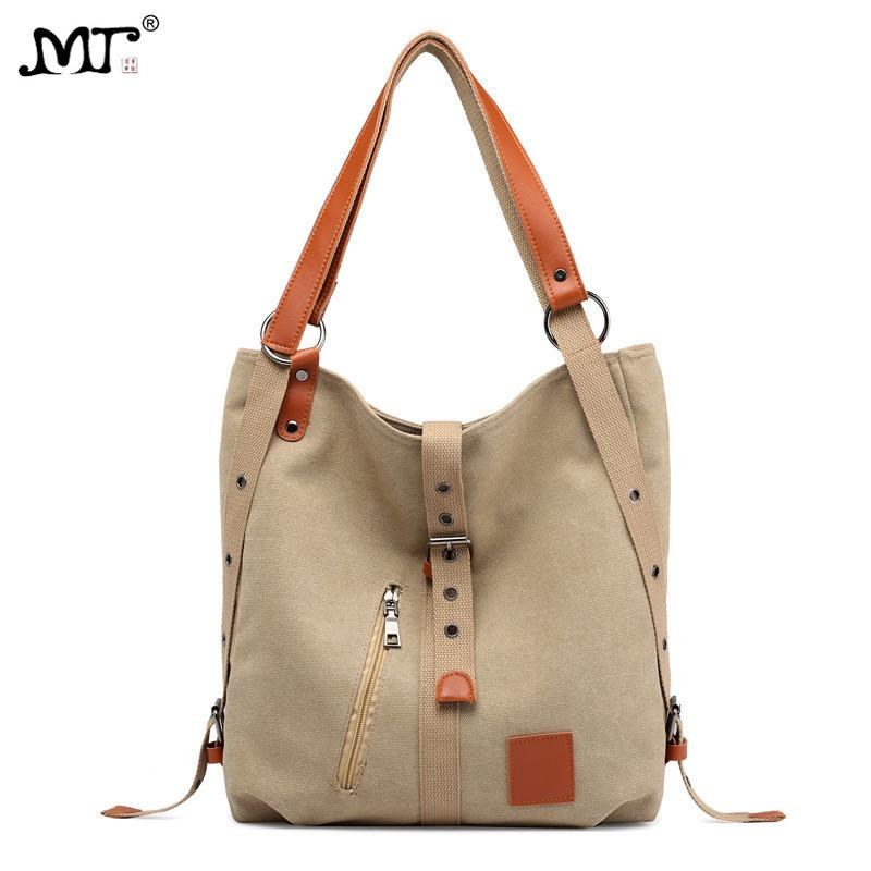 4608a80c4c0b MJ Canvas Women Handbag Simple Design Tote Bag Female Large Capacity Canvas  Bucket Shoulder Bag 2018 New Fashion Shopping Bags Man Bags Crossbody Purses  ...